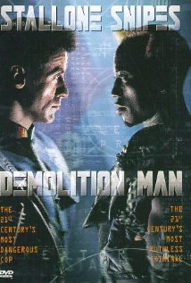 Demolition Man (1993) cover