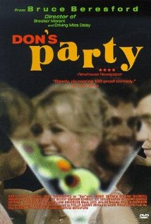 Don's Party 1976 poster