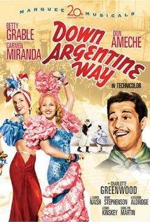 Down Argentine Way 1940 poster