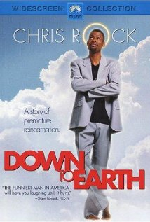 Down to Earth 2001 poster