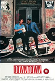 Downtown 1990 poster