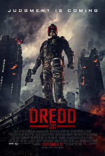 Dredd 3D 2012 poster