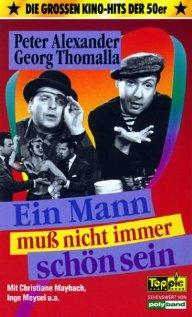 Ein Mann muß nicht immer schön sein (1956) cover