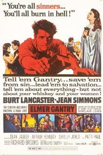Elmer Gantry 1960 poster