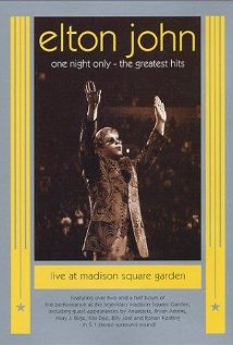 Elton John: One Night Only - Greatest Hits Live (2001) cover