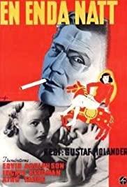 En enda natt (1939) cover