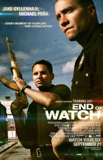 End of Watch (2012) cover