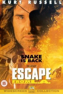 Escape from L.A. (1996) cover
