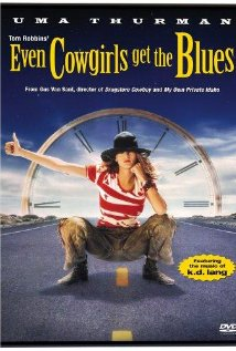 Even Cowgirls Get the Blues 1993 poster