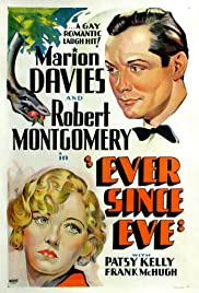 Ever Since Eve (1937) cover