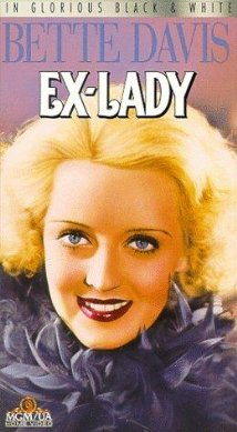 Ex-Lady 1933 poster