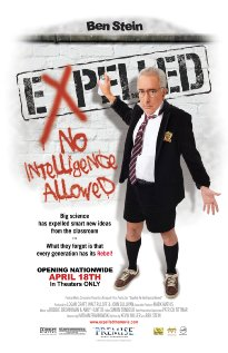 Expelled: No Intelligence Allowed (2008) cover