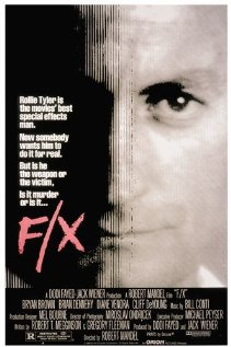 F/X 1986 poster