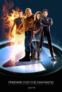 Fantastic Four (2005) cover