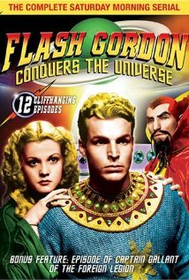 Flash Gordon Conquers the Universe (1940) cover