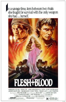 Flesh+Blood (1985) cover
