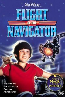 Flight of the Navigator (1986) cover