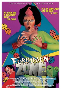 Forbidden Zone 1982 poster