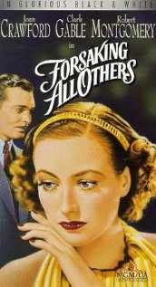Forsaking All Others (1934) cover