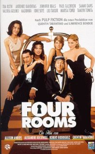 Four Rooms (1995) cover