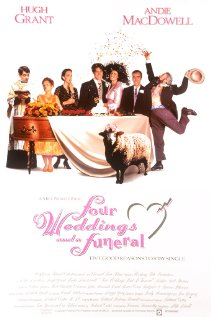 Four Weddings and a Funeral (1994) cover