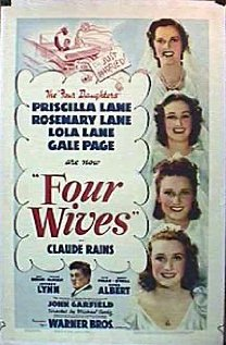 Four Wives 1939 poster