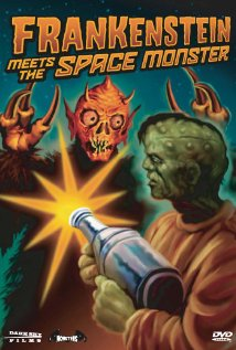 Frankenstein Meets the Spacemonster (1965) cover