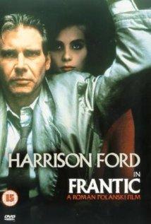 Frantic 1988 poster