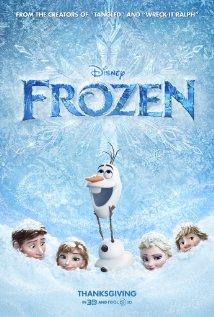 Frozen (2013) cover