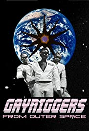 Gayniggers from Outer Space 1992 poster