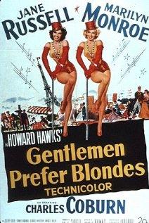 Gentlemen Prefer Blondes (1953) cover