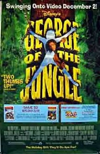 George of the Jungle 1997 poster