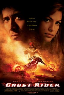 Ghost Rider 2007 poster