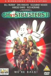 Ghostbusters II (1989) cover