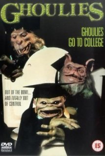 Ghoulies III: Ghoulies Go to College (1991) cover