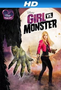 Girl Vs. Monster 2012 poster