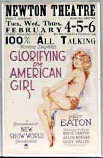 Glorifying the American Girl (1929) cover