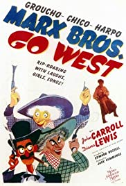 Go West (1940) cover