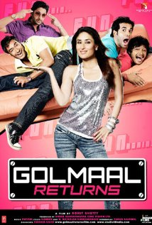 Golmaal Returns (2008) cover