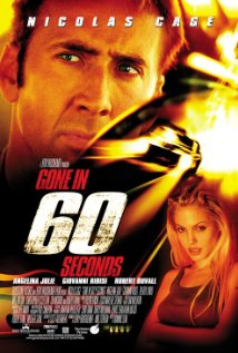 Gone in Sixty Seconds 2000 poster
