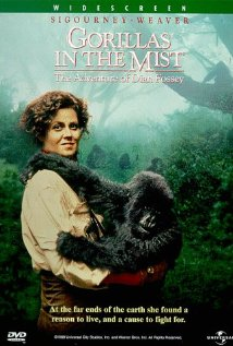 Gorillas in the Mist: The Story of Dian Fossey 1988 poster