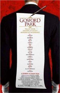 Gosford Park (2001) cover