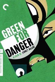 Green for Danger (1946) cover