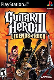 Guitar Hero III: Legends of Rock 2007 poster