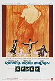 Gypsy (1962) cover