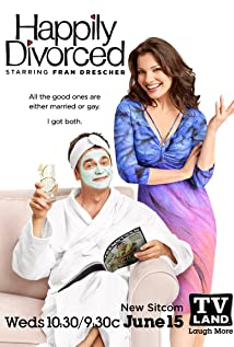 Happily Divorced 2011 poster