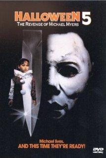 Halloween 5 (1989) cover