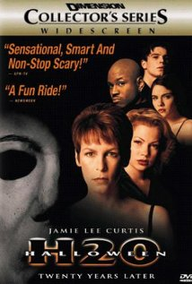 Halloween H20: 20 Years Later (1998) cover