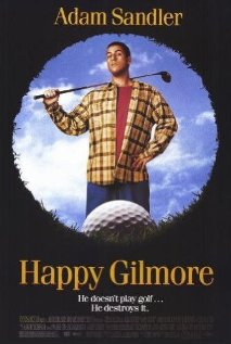 Happy Gilmore (1996) cover