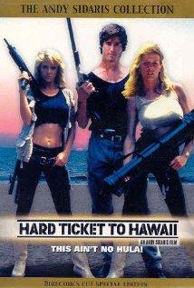 Hard Ticket to Hawaii (1987) cover
